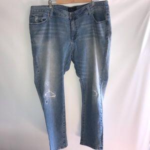Lucky Brand Lighwash Ginger Skinny Jeans
